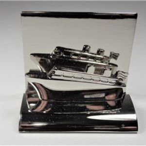 Other - AIRCRAFT METAL CRUISE SHIP TRAVEL CARD HOLDER